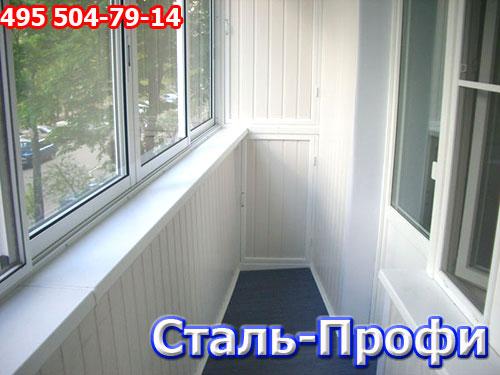 Остекление балконов алюминием в москве и московской области .